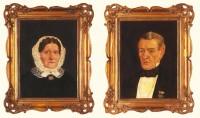 Friedrich Gerstein - Landrat zu Hagen - und seine Frau Philippine